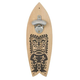 Tiki Surfboard Shaped Wall Mounted Bottle Opener