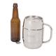 Personalized Stainless Steel XL Beer Keg Mug - 33 oz