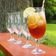 Personalized Stemmed Goblets - 16.5 oz - Set of 4