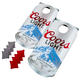 Coors Light Can Shaped Cornhole Bean Bag Toss Tailgating Game