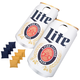 Miller Lite Can Shaped Cornhole Bean Bag Toss Tailgating Game