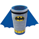 Batman Molded Ceramic Caped Pint Glass - 16 oz