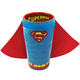 Superman Molded Ceramic Caped Pint Glass - 16 oz