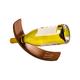 Personalized Wood Balancing Wine Bottle Holder