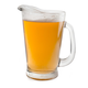 Anchor Hocking Beer Wagon Glass Pitcher - 55 oz