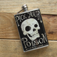 Pick Your Poison Stainless Steel Hip Flask - 8 oz
