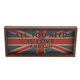 All You Need Is Love And Gin And Tonic Wooden Serving Tray - Makes Great Wall Art