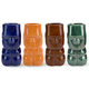 Ceramic Tiki Shot Glass - 2 oz