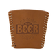Enjoy Beer - Breakfast of Champions Leather Pint Glass Beer Sleeve