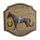 High Horse Saloon Metal Bar Sign