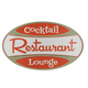 Restaurant Cocktail Lounge Retro Metal Bar Sign