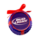 Bud Light Bottle Cap Ceramic Christmas Tree Ornament
