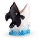 Killer Whale Ceramic Tiki Mug - 12 oz