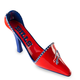 Buffalo Bills Shoe Wine Bottle Holder