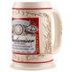 Budweiser Ceramic Beer Stein - 18 oz