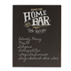 Personalized Home Bar Menu Chalkboard Sign