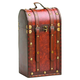 Chateau Antique Two-Bottle Wine Travel Case