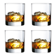 Luminarc Barcraft Straight Sided Rocks Glass - 10.5 oz - Set of 4