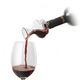 The Swirl Glass Wine Aerator with Stand - On The Bottle Wine Scent & Flavor Enhancer