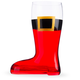 Christmas Santa Beer Boot - Half Liter
