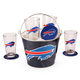Buffalo Bills Beer Bucket Gift Set - 9 Pieces