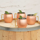 Copper Moscow Mule Mug - 16 oz - Pack of 4
