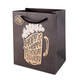 Hoppy Beerthday 6 Pack Gift Bag - Fits 6 Bottles of Beer In Place