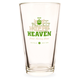 Hoppy Heaven Pond Hockey Brew Pint Glass - 16 oz