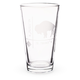 Etched Buffalo Football Stadium Coordinates Pint Glass - 16 oz
