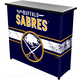 Buffalo Sabres Portable Metal Bar Table with Carrying Case