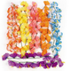 Polyester Hibiscus Flower Leis