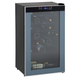 24 Bottle Wine Cooler - Black Cabinet - Glass Door