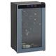 24 Bottle Wine Cooler - Black Cabinet - Glass Door