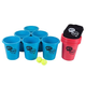 Bucket Ball Giant Beer Pong Outdoor Game Set - 15 Pieces