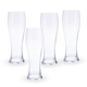 Spiegelau Crystal Hefeweizen Beer Glasses - Set of 4 - 24.7 oz