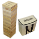 GoSports Giant Toppling Tower Wood Block Game Set with Carrying Case & Scoreboard