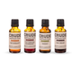 Crude Small Batch Cocktail Bitters Sampler Pack - 1 oz Bottles - Set of 4
