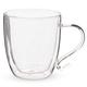Primula Double Walled Borocilcate Glass Coffee Mug - 16 oz