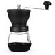 Robust Manual Coffee Grinder with Storage Jar