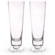 Urban Bar Handmade Retro Sling Footed Cocktail Glasses - 11 oz - Set of 2