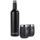 EcoVessel Triple Insulated Stainless Steel Wine Set - Bottle & 2 Tumblers