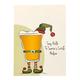 Holiday Greeting Card - Santa's Little Helper