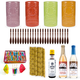 Tiki Drink Accessories Starter Kit - Includes Ceramic Mugs, Ingredients & Supplies