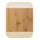 Two-Tone Bamboo Cutting & Serving Board with Juice Grooves