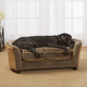 Enchanted Home Pet Panache Mink/Brown Sofa Dog Bed