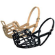 Italian Basket Muzzle Black Size 10