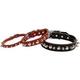 Latigo Spike/Stud Collar 1in Black 22in