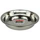Stainless Steel Puppl Litter Feeding Dish 10 inch