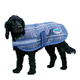 WeatherBeeta Parka 1200D Dog Coat 32 Hunter/Navy