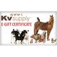 KVSupply.com eGift Certificate $75